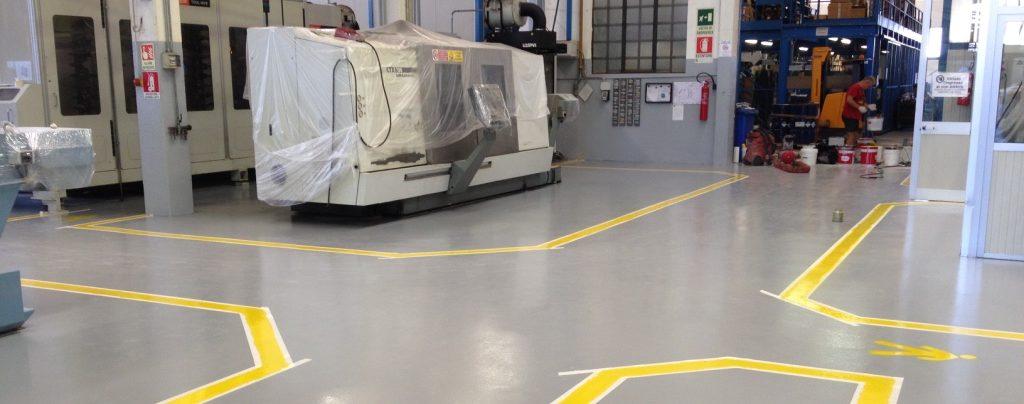 Epo System pavimentazioni in resina e segnaletica aziendale