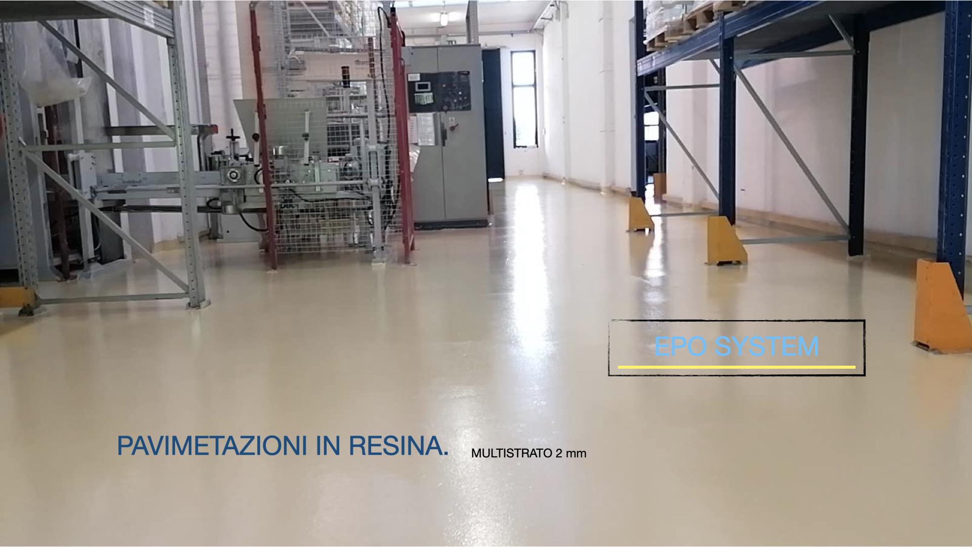 Epo System pavimentazioni industriali in resina