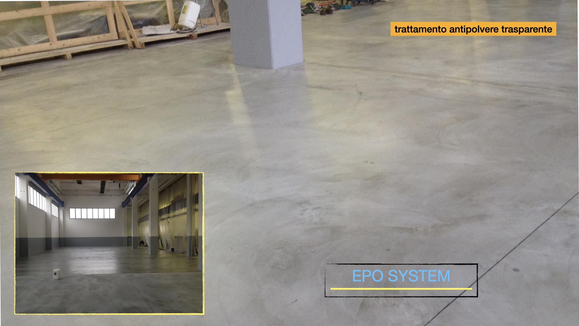 Epo System verniciature pavimentazioni industriali